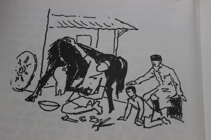 Hussain's horses