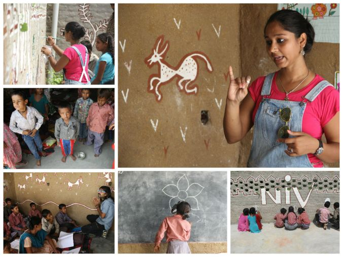 Then Meenakshi took over with kids and..