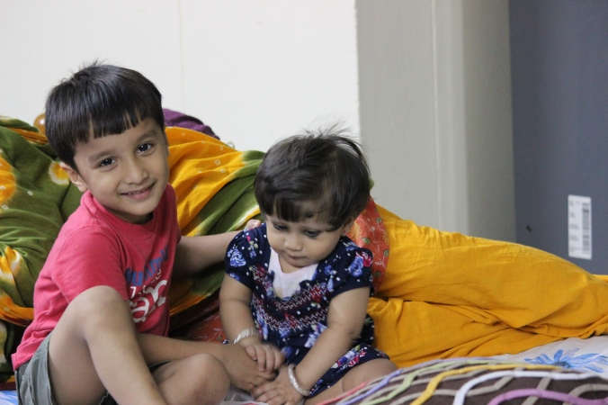 Taha and Sara in IIT Madrs