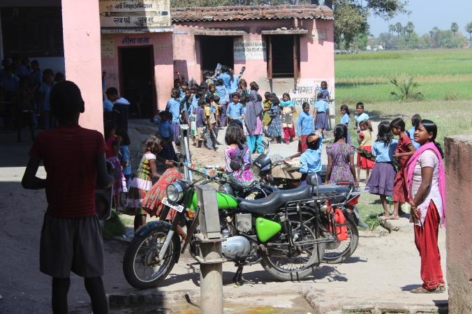 Our hari bhari bullet with kids