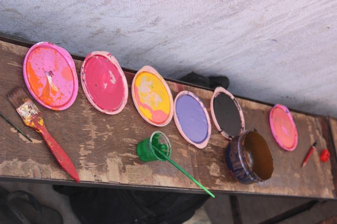colours colours and colours
