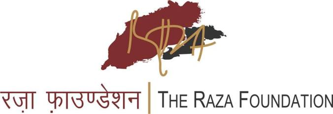 Raza foundation is supporting the exhibition Art walle लोग